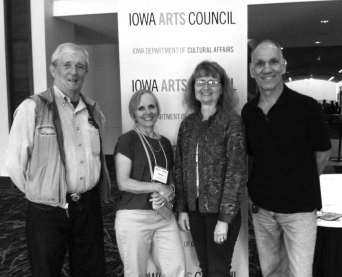 FCA members at Iowa Arts Summit.